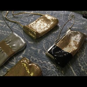 Variety of vintage evening bags- all sequined mesh